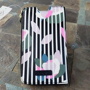 ☆NEW☆ Fossil RFID Phone Case /Wallet